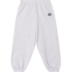 Balenciaga Kids - Bb-print Cotton-blend Track Pants - Womens - Light Grey found on Bargain Bro India from Matches Global for $38.00