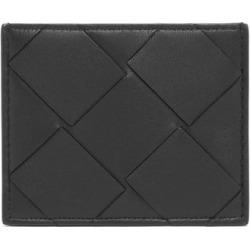 Bottega Veneta - Large Intrecciato Leather Cardholder - Womens - Black found on Bargain Bro Philippines from Matches Global for $290.00