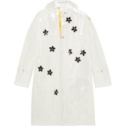 4 Moncler Simone Rocha - Perspex-flower Transparent Hooded Parka - Womens - Clear found on Bargain Bro India from Matches Global for $1316.00