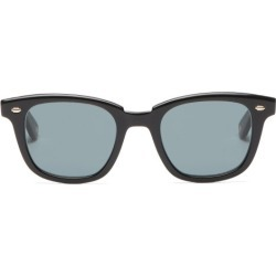 Garrett Leight - Calabar Acetate And Stainless-steel Sunglasses - Mens - Black found on MODAPINS from Matches Global for USD $360.00