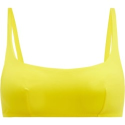 Araks - Quinn Scoop-neck Bikini Top - Womens - Yellow found on MODAPINS from Matches UK for USD $54.50