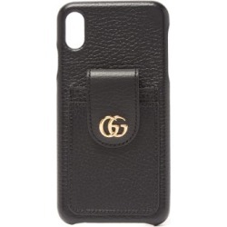 Gucci - GG Marmont Leather Iphone® Xs Max Phone Case - Womens - Black found on Bargain Bro Philippines from Matches Global for $390.00