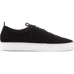 Grenson - Sneaker 1 Suede Trainers - Mens - Black found on MODAPINS from MATCHESFASHION.COM - AU for USD $211.45