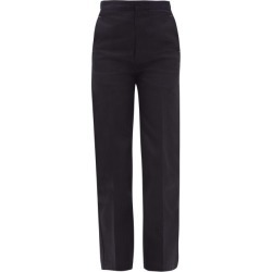 Jil Sander - High-rise Tailored Jeans - Womens - Dark Blue found on Bargain Bro UK from Matches UK