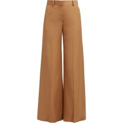 Bella Freud - Bianca Wide Leg Trousers - Womens - Camel found on MODAPINS from Matches UK for USD $503.23