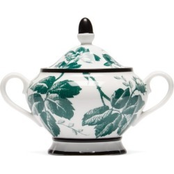 Gucci - Herbarium Porcelain Sugar Bowl - Womens - Green Multi found on Bargain Bro UK from Matches UK