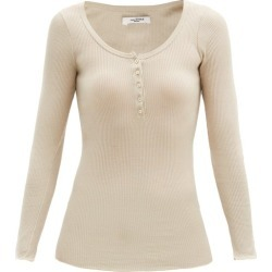 Isabel Marant Étoile - Haut Henley en jersey de coton côtelé Lamylic found on Bargain Bro India from matchesfashion.com fr for $182.00