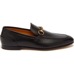 Gucci - Mocassins en cuir Jordaan found on Bargain Bro Philippines from matchesfashion.com fr for $845.00