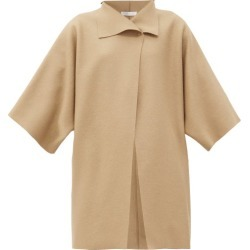 Harris Wharf London - Pressed-wool Wrap Coat - Womens - Beige found on MODAPINS from Matches Global for USD $405.00