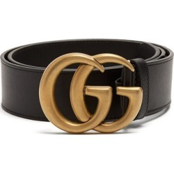 Gucci - GG Leather Belt - Womens - Black found on Bargain Bro Philippines from Matches Global for $460.00