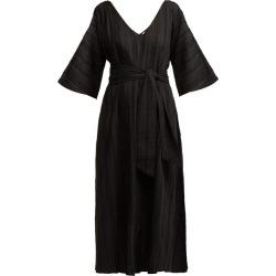 Merlette - Villandry V-neck Eyelet-lace Cotton Dress - Womens - Black found on Bargain Bro UK from Matches UK