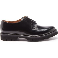 Grenson - Melvin Patent-leather Derby Shoes - Mens - Black found on MODAPINS from Matches UK for USD $417.00