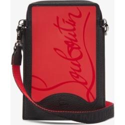 Christian Louboutin - Loubilab Leather & Rubber Cross-body Bag - Mens - Black Multi found on Bargain Bro UK from Matches UK