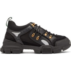 Gucci - Flashtrek Leather Trainers - Mens - Black found on Bargain Bro UK from Matches UK