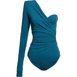 Alexandre Vauthier - Asymmetric Draped Crepe Bodysuit - Womens - Blue found on Bargain Bro Philippines from Matches Global for $364.00