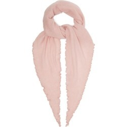 Allude - Fine Knit Cashmere Scarf - Womens - Pink found on MODAPINS from Matches Global for USD $158.00