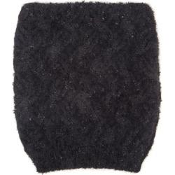 Dolce & Gabbana - Zigzag-knit Beanie Hat - Womens - Black found on Bargain Bro UK from Matches UK