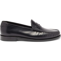 Saint Laurent - Monogram Leather Penny Loafers - Mens - Black found on Bargain Bro UK from Matches UK
