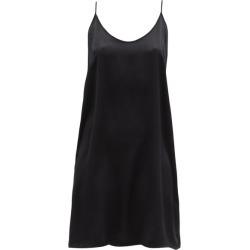 Araks - Pearl Silk-charmeuse Slip Dress - Womens - Black found on MODAPINS from MATCHESFASHION.COM - AU for USD $236.95