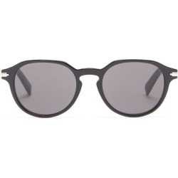 Dior - Diorblacksuit Round Acetate Sunglasses - Mens - Black found on Bargain Bro UK from Matches UK