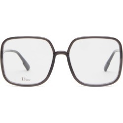 Dior Eyewear - Diorsostellaire01 Square Acetate Glasses - Womens - Black found on MODAPINS from Matches Global for USD $350.00