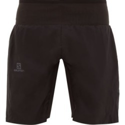 Salomon - Trail Runner Waist-panel Shorts - Mens - Black found on Bargain Bro India from MATCHESFASHION.COM - AU for $63.89