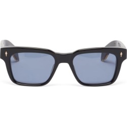 Jacques Marie Mage - Molino Rectangular Acetate Sunglasses - Mens - Black found on MODAPINS from Matches Global for USD $671.00