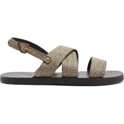 Ancient Greek Sandals - Woven Crossover Sandals - Mens - Multi found on MODAPINS from Matches Global for USD $54.00
