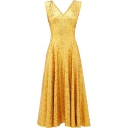 Norma Kamali - Grace Sequinned Midi Dress - Womens - Gold found on Bargain Bro Philippines from MATCHESFASHION.COM - AU for $508.14