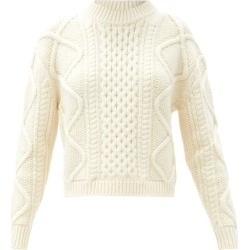 Officine Générale - Pull en maille torsadée Alizee found on Bargain Bro India from matchesfashion.com fr for $686.40