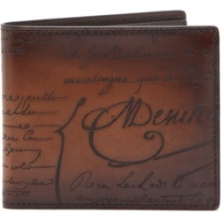 Berluti - Scritto Leather Bi Fold Wallet - Mens - Brown found on MODAPINS from Matches UK for USD $593.55