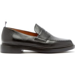 Thom Browne - Mocassins en cuir texturé found on Bargain Bro from matchesfashion.com fr for USD $661.96