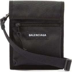 Balenciaga - Explorer Recycled-nylon Pouch - Mens - Black found on Bargain Bro UK from Matches UK