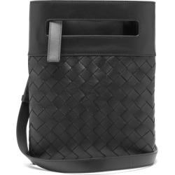 Bottega Veneta - Intrecciato Small Leather Cross-body Bag - Mens - Black found on Bargain Bro UK from Matches UK
