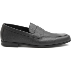 John Lobb - Thorne Pebble-grain Leather Penny Loafers - Mens - Black found on MODAPINS from Matches Global for USD $880.00