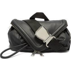Bottega Veneta - Triangle-flap Leather Belt Bag - Mens - Black found on Bargain Bro UK from Matches UK