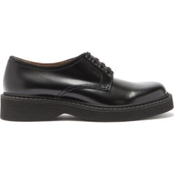 Marni - Ridged-sole Leather Derby Shoes - Mens - Black found on Bargain Bro from Matches UK for £453