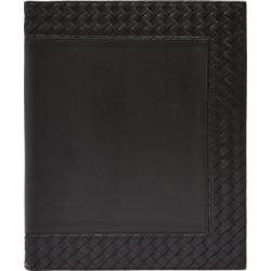 Bottega Veneta - Intrecciato Leather Notebook - Black found on Bargain Bro Philippines from Matches Global for $356.00