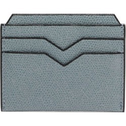 Valextra - Grained-leather Cardholder - Womens - Light Blue found on Bargain Bro Philippines from Matches Global for $285.00