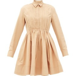Jil Sander - Nouvelle Cotton Dress - Womens - Nude found on Bargain Bro UK from Matches UK