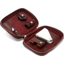John Lobb - Shoe Care Leather Travel Case - Mens - Burgundy found on MODAPINS from Matches UK for USD $929.32