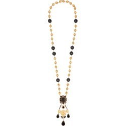 Dolce & Gabbana - Cameo Crystal-pendant Necklace - Womens - Gold found on Bargain Bro from Matches UK for £1106