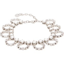 Miu Miu - Crystal-embellished Looped-chain Anklet - Womens - Crystal found on Bargain Bro UK from Matches UK