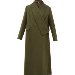 Golden Goose - Oversized Wrap-around Coat - Womens - Khaki found on Bargain Bro UK from Matches UK
