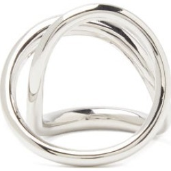 Charlotte Chesnais - Ribbon Sterling-silver Ring - Womens - Silver found on MODAPINS from Matches Global for USD $595.00