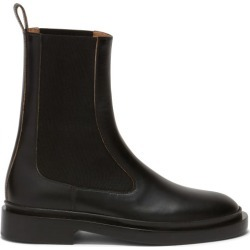 Jil Sander - Leather Chelsea Boots - Womens - Black found on Bargain Bro UK from Matches UK
