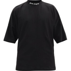 Palm Angels - Logo-print Cotton-jersey T-shirt - Mens - Black found on Bargain Bro UK from Matches UK