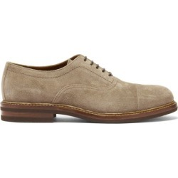 Brunello Cucinelli - Suede Oxford Shoes - Mens - Brown found on Bargain Bro UK from Matches UK