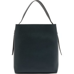 Valextra - Grained-leather Tote Bag - Mens - Navy