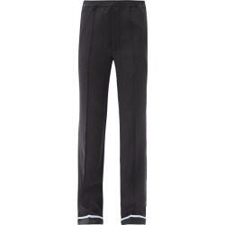 Haider Ackermann - Piped-hem Silk-satin Trousers - Womens - Black found on MODAPINS from Matches Global for USD $1020.00